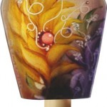 Jenny Floravita's Yellow Ginger painted nightlight