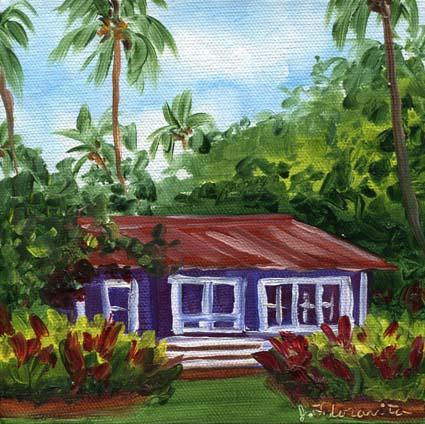 Kauai Waimea Plantation Cottage Art 6 111