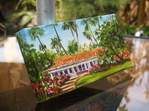 North Shore Living side detail by artist Jenny Floravita