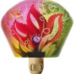 Jenny Floravita's abstract desert flower night light