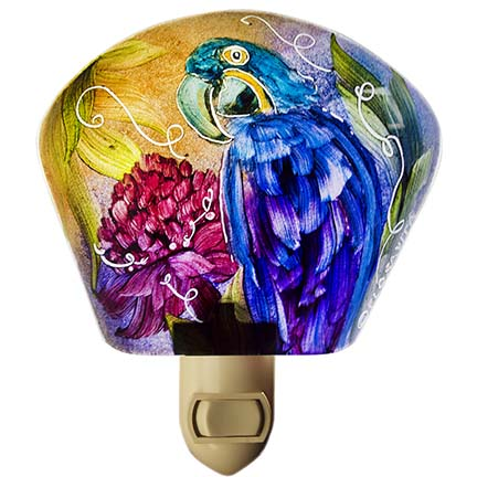 Parrot night light by Jenny Floravita