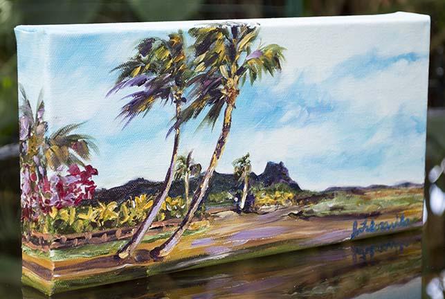 Kauai ranch painting