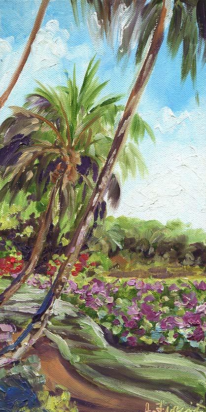Kauai lily pond