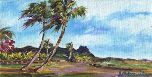 Kauai ranch painting