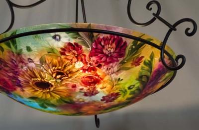sunflower lamp
