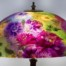 reverse painted lamp shade