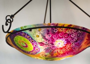 Sedona glass art lighting