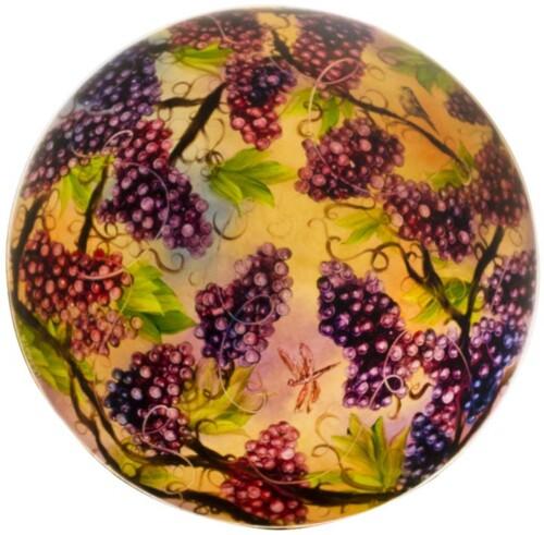 hand painted grape light
