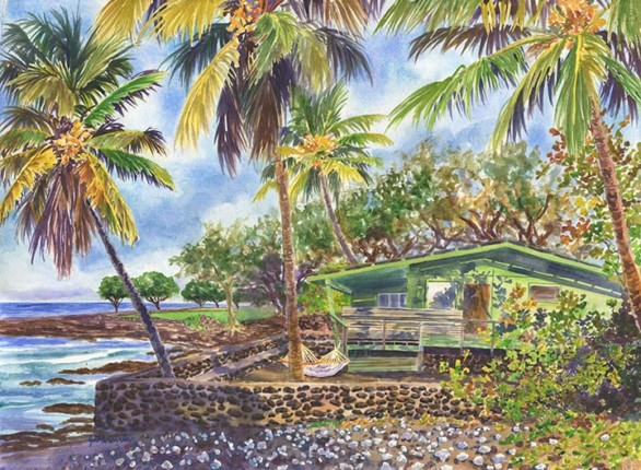 Hawaiian Island Paintings