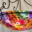 Durango Colorado Flowers painted chandelier