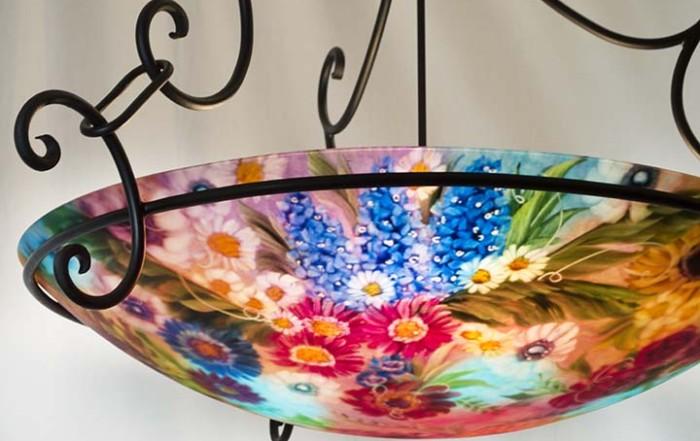 sedona hand painted chandelier