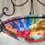 sedona reverse painted chandelier