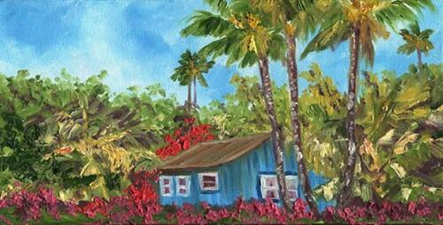wild tropical garden