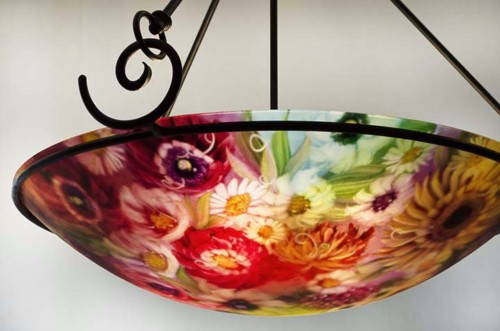 durango hand painted chandelier