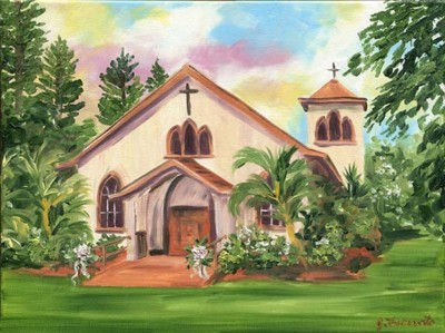 Sacred Heart of Jesus and Mary Catholic Church in Waimea