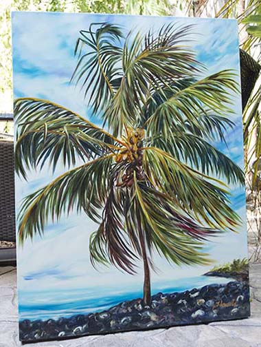 Lapakahi State Park painting